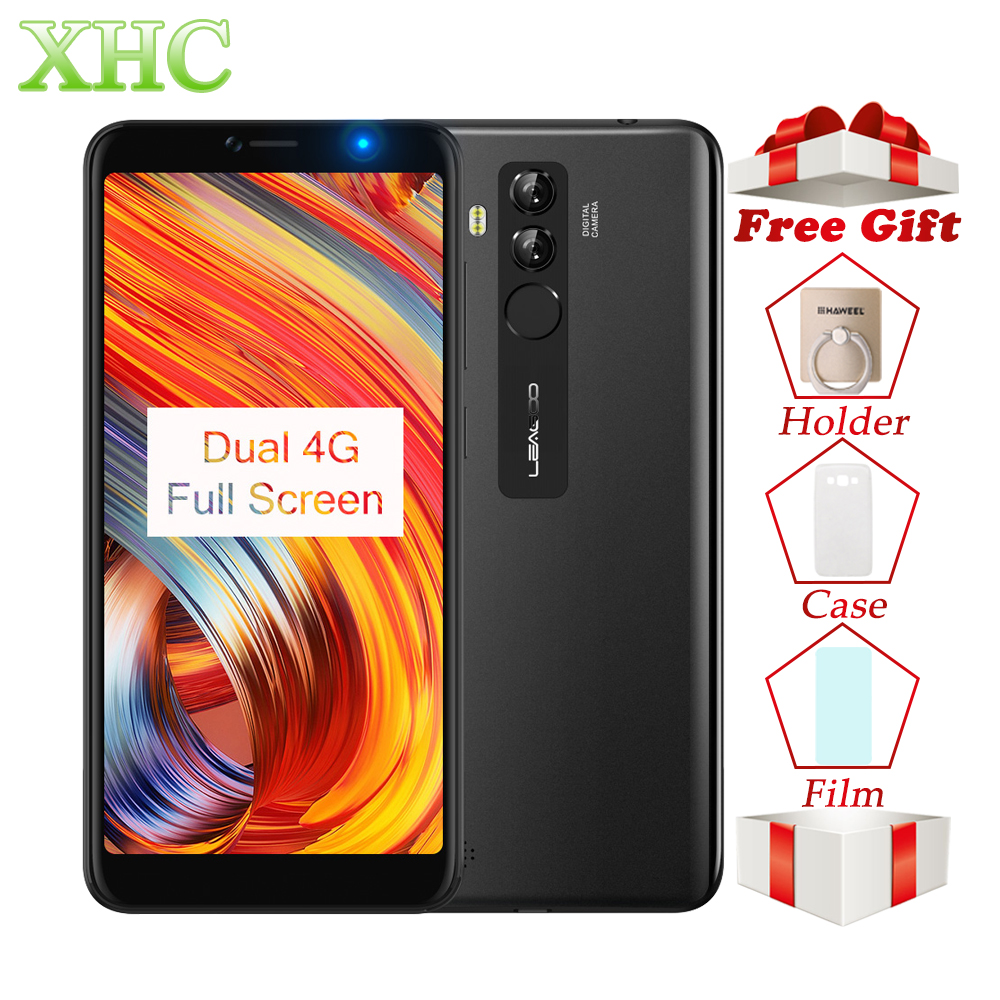 LEAGOO M9 PRO LTE 4g Smartphone 5.72 18:9 plein Écran Android 8.1 Quad Core RAM 2 gb ROM 16 gb Double SIM D'empreintes Digitales Mobile Téléphones