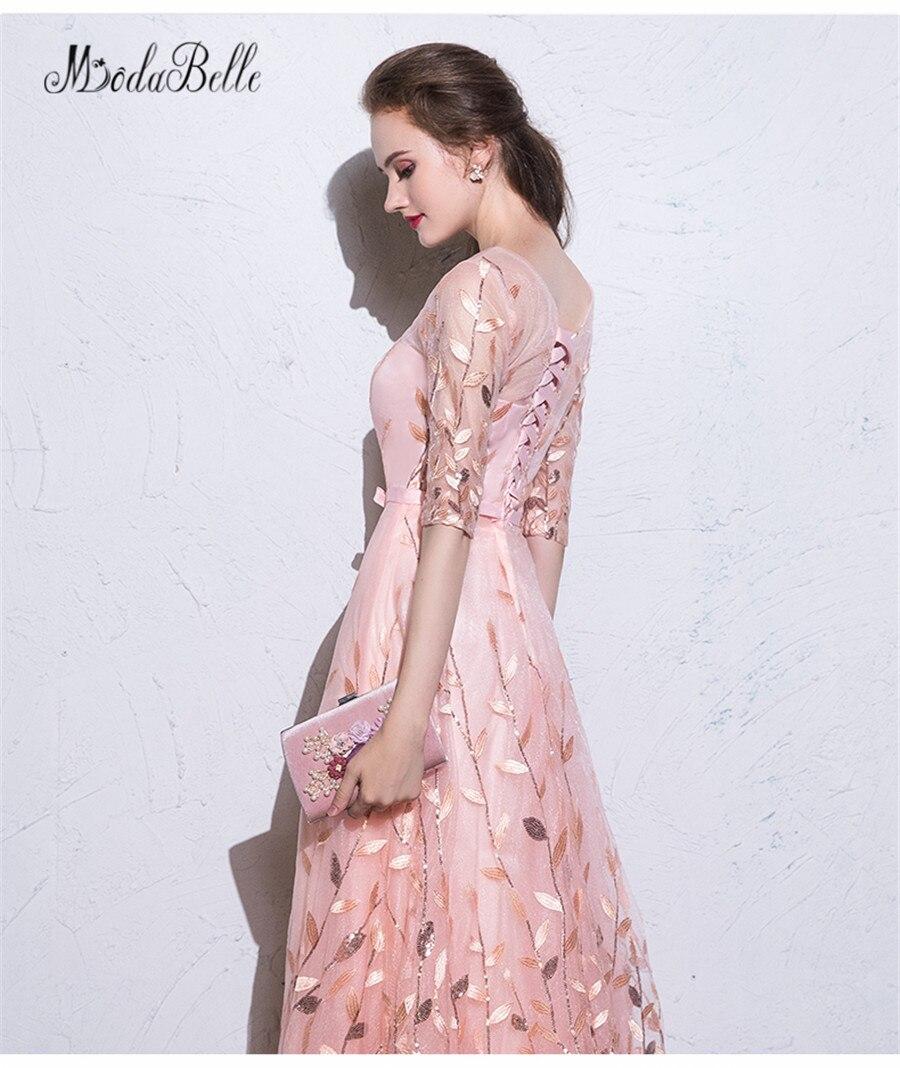 modabelle Pink Women Evening dress With Sequins 2018 Beautiful Short ...