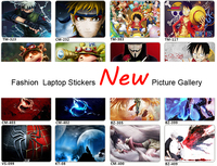Fashion New Picture Gallery PVC Laptop Sticker For Mackbook Lenovo Thinkpad Acer Asus Dell Toshiba HP