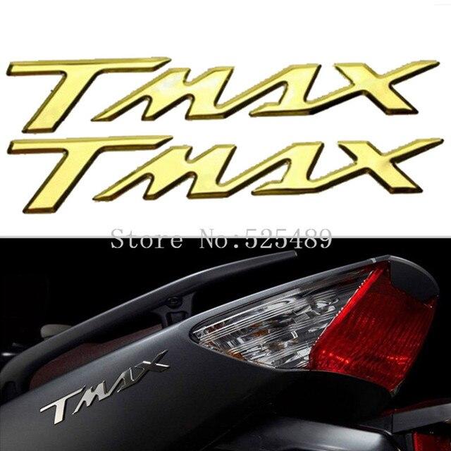 8 32 7 De Réduction 2 Pcs 5 Couleur 3d Moto Queue Arrière Réservoir Pad Protecteur Couverture Autocollant Décoration Stickers Pour Yamaha T Max 500