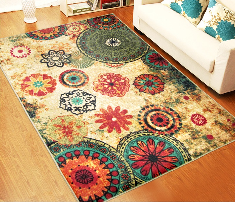 LYN&GY Luxury Jacquard Sofa Chair Floor Mats Doormat Rugs and Carpets for living room Area Rugs for Kitchem Bedroom Wholesale