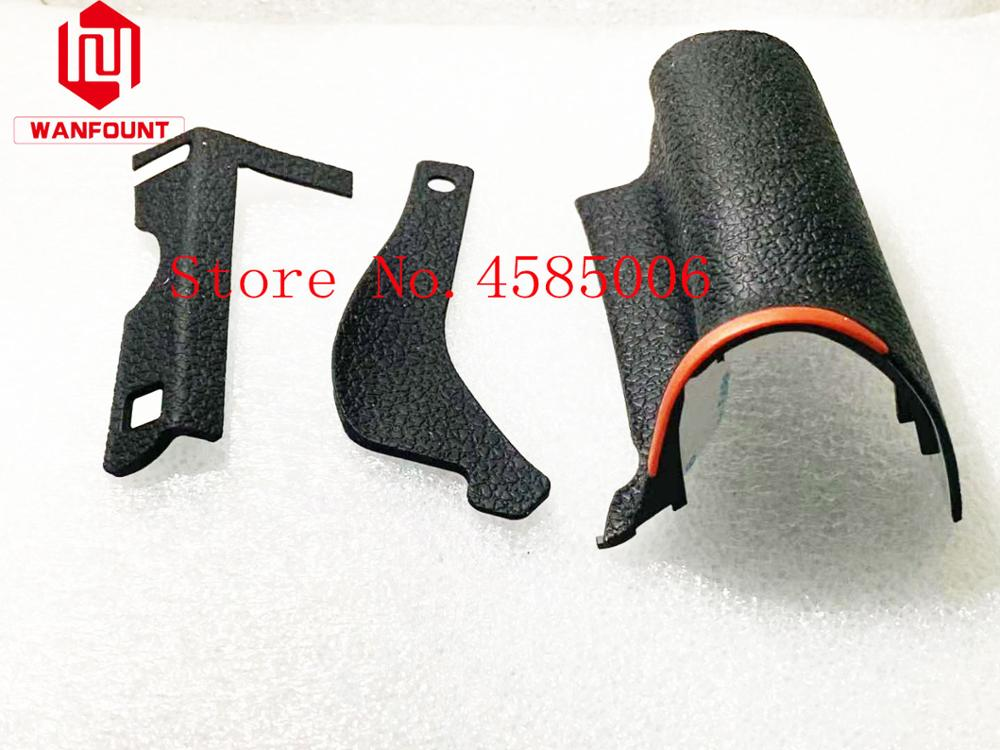OUTMIX A Set Of 3PCS New Original Bady Rubber (Grip+left Side+thumb) Repair Parts For Nikon D750 SLR