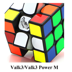 Valk3 Power M Magnetic Cube/Valk 3  Power/Valk 3/Mini Size Cube 3x3 Speed Mofangge Competition Cubes Toy WCA Puzzle Magic Cubo