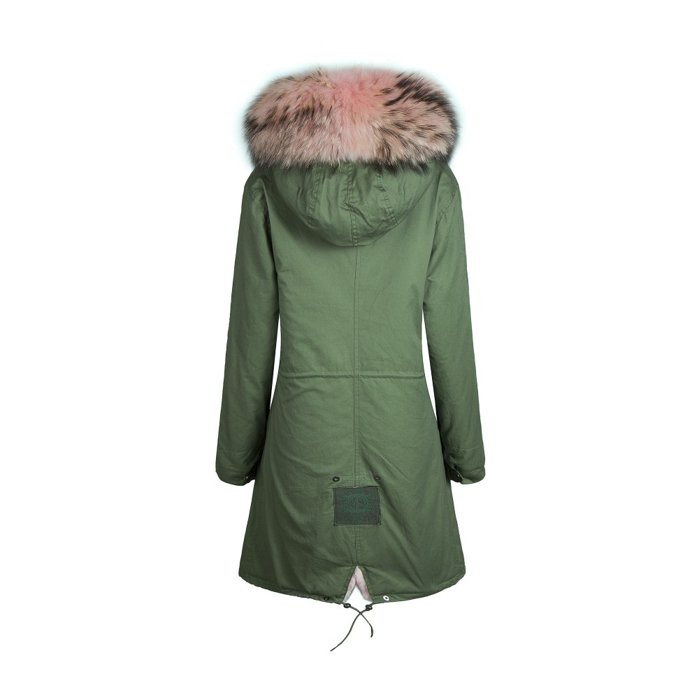 coats fur hooded Womens vintage