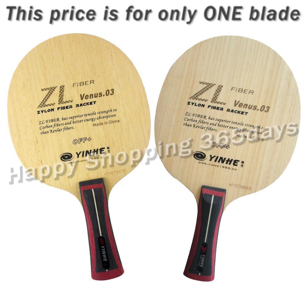 Milky Way Galaxy YINHE ZL Venus.03 V 3 V 3 V3 PingPong Blade for Table Tennis Paddle Bat Racket Ping Pong Balls