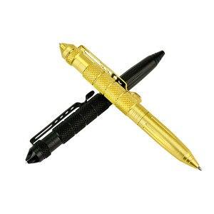 Image 5 - אישית באיכות גבוהה טקטי עט הגנה עצמית עט כלי תכליתי תעופה אלומיניום נגד החלקה נייד