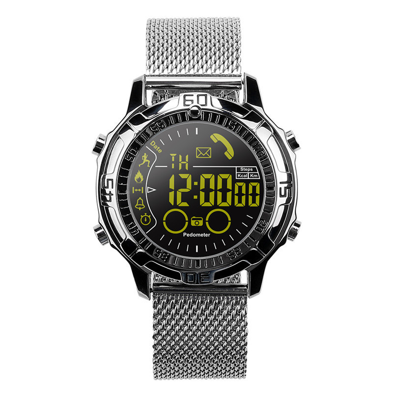EX28A Outdoor Sports Smart Watch Temperature Measurement Elevation Altitude Air Pressure Heart Rate Pedometer better than EX18