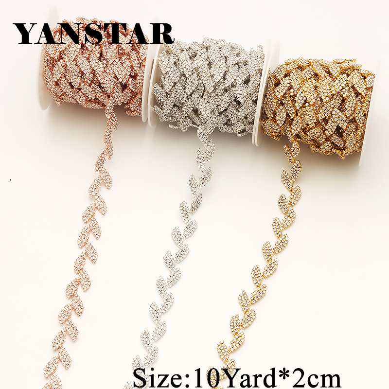 Detail Feedback Questions about YANSTAR 1Yard Single Row Rhinestone Chain  Close Set Rhinestone Cup Chain Hot fix Strass YS875a on Aliexpress.com  52d51409997a