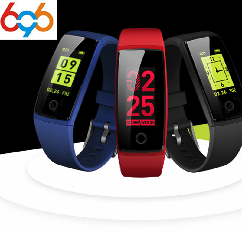 696 V10 Smart Wristband 0.96 IPS Color bracelet 24 Hours Automatic Blood Pressure Heart Rate Monitoring for Android IOS Smart p