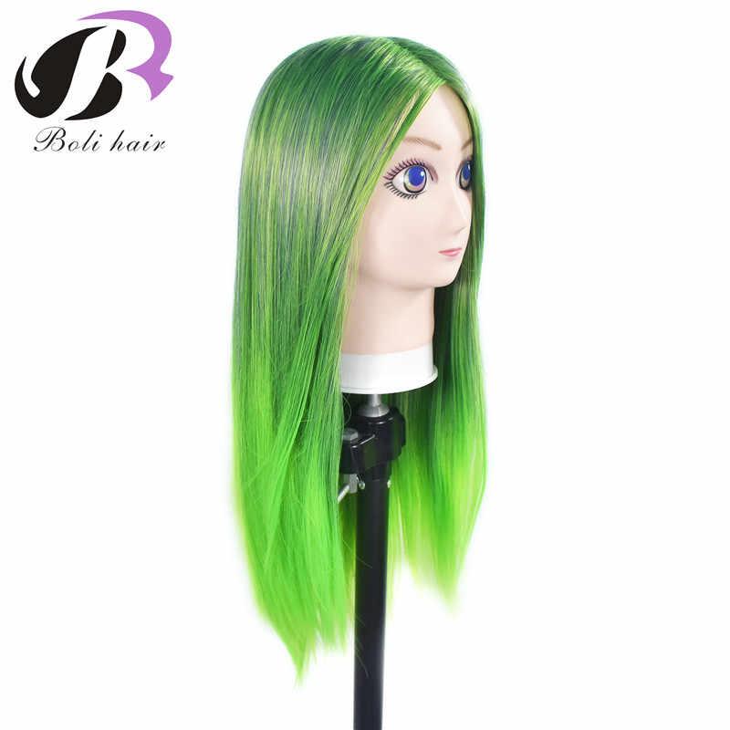 Boli 60cm Comic Maniqui hoofd Training Hoofd Dummy Hoofd mannequin hoofd voor gift Pruik Stand professionele cosplay Haar Poppen hoofd