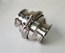Stainless Steel 304 Clamp Sanitary Flame Arrester Pipe fire filter Fire Respiratory Valve O.D19mm~102mm