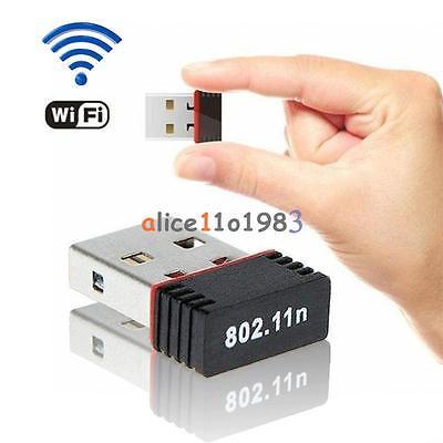 150 Мбит/с USB Wi-Fi Беспроводной Адаптер 802.11n/g/b 150 м ПК компьютерной сети сетевой карты
