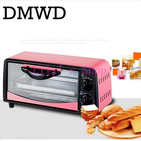 Household MINI electric oven with timer baking pot roast oven toaster Cake pizza device multifunction grill machine EU US plug pfml nb400 stainless steel high temperature deck baking pizza oven machine for pizza shop