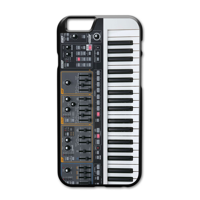 sports shoes 9acdb 62231 US $3.89 |Keyboard Synthesizer Cover Case for iPhone 5 5S 6 6S 7 8 Plus X  XS MAX XR Samsung Galaxy S4 S5 S6 S7 Edge S8 S9 Plus-in Fitted Cases from  ...