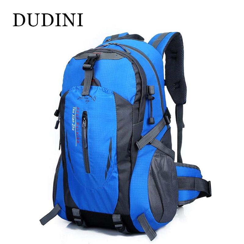 DUDINI Waterproof Women & Men Travel Backpack Nylon Mochilas Fashion Rucksack High Quality Casual Backpack Large capacity Bags цена и фото