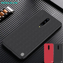 For OnePlus 7 Pro Case OnePlus7 6T Cover NILLKIN Textured Nylon fiber case Thin and light Phone back cover For OnePlus 7Pro case