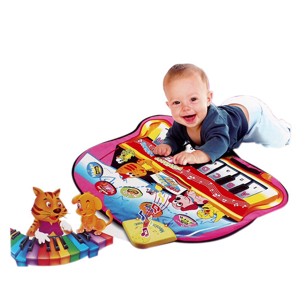 Baby Activity Mat for Children Music Activities Rug Carpet Educational Learning Toy Christmas Gift for Kids