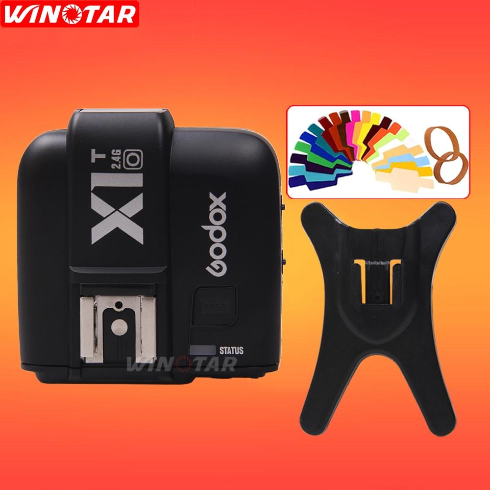 In stock Godox X1T X1T-O 2.4G Wireless Speedlite Flash Transmitter Trigger for Olympus Panasonic Cameras