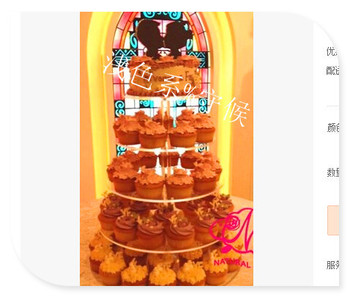 Cake Display Stand Plexiglass display holder free shopping 5 Tier Clear Round Acrylic Cake Holder Pmma Cupcake Stand decoration