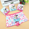 Promotional discounts Panties baby underwear shorts kids briefs  Cotton Minnie Mouse panties, 2pcs/lot, Cartoon Panties A0081