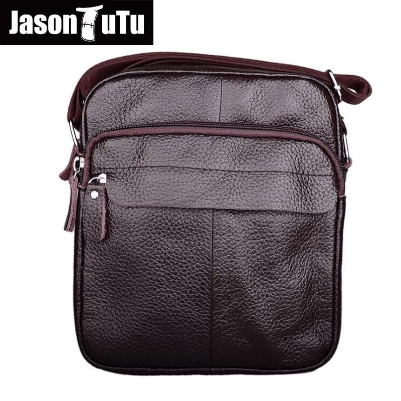 75d85adbc1 Cow Genuine Leather Messenger Bags Men Casual Travel Business Crossbody Shoulder  Bags MEN Sacoche Homme Bolsa
