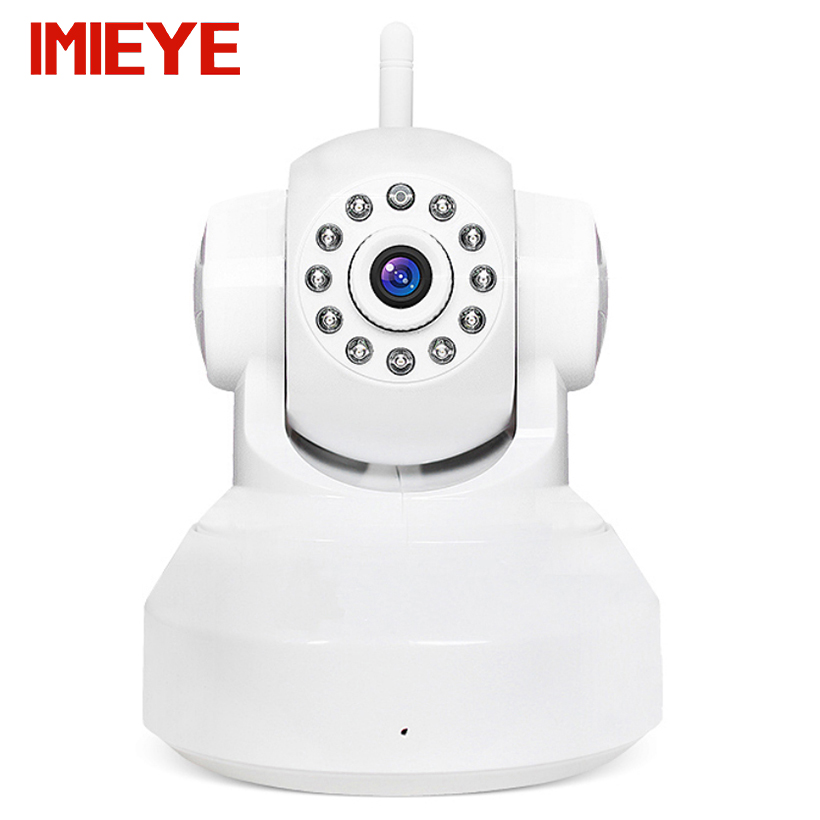 IMIEYE Real HD 720P Wireless Wifi IP Camera CCTV Security P2P PTZ Max 64G TF Card