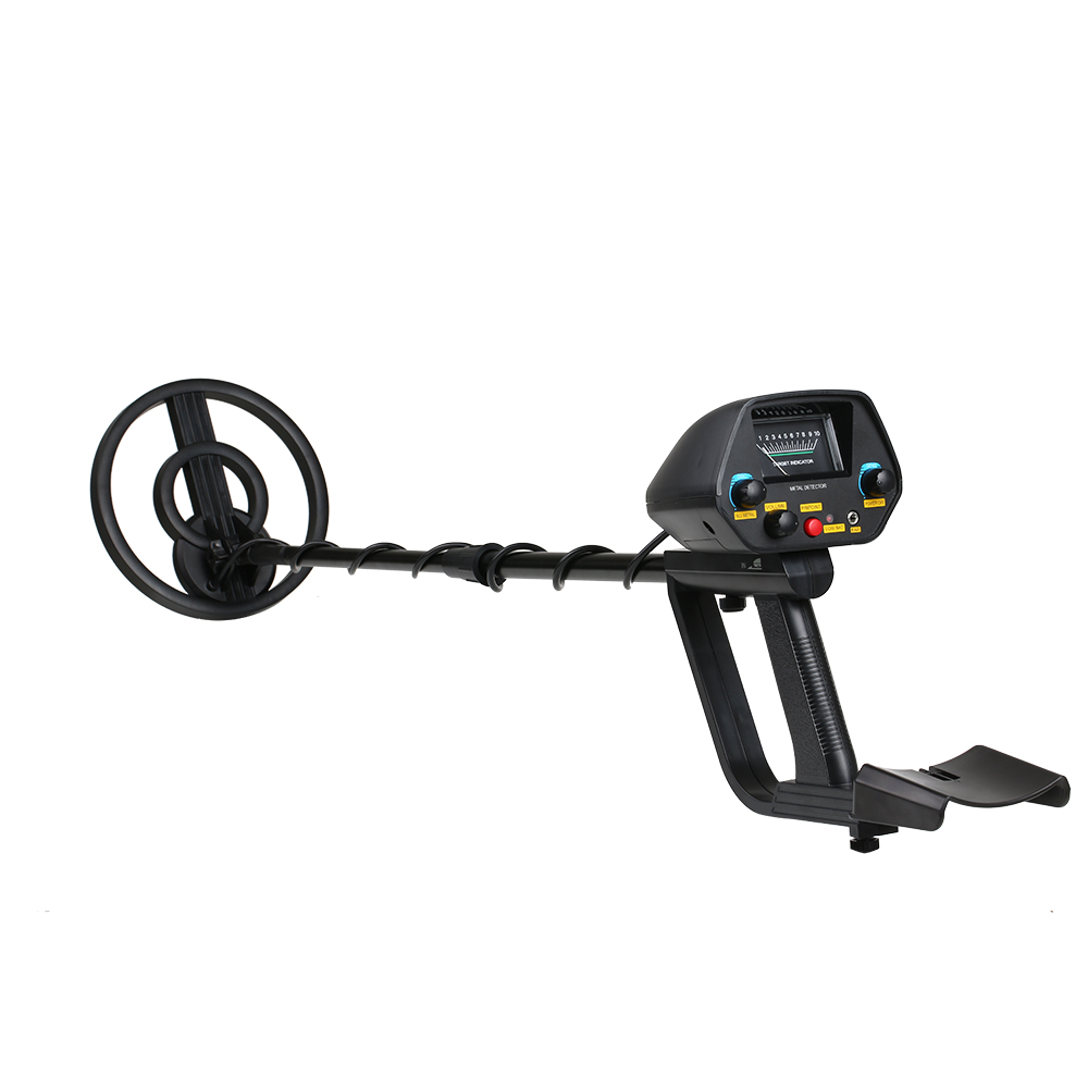 Professional Metal Detector Adjustable Gold Track Underground Iron Finder Searching Treasure Scanning Tool Camping Equipment underground metal detector md 4080 professional gold track iron finder searching treasure hunter adjustable camping equipment