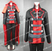 Anime RWBY Red Trailer for Man Uniform Cosplay Costume Any Size Full Set
