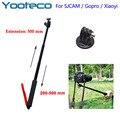 Gopro Acessórios Extensível Handheld Telescópica Titular Tripé Para Go pro xiaomi yi eken h9 hero 5 4 sjcam sj4000 ação câmera