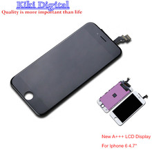 High Quality A+++ LCD display touch screen digitizer Assembly For Iphone 6 6G 4.7 inch LCD