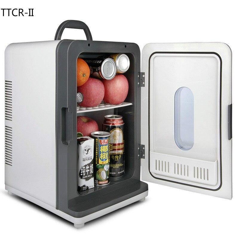 car 18l 12v 220v mini home car cooler dormitory freezer car fridge auto