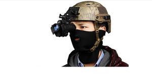 Image 4 - Free shipping  Hunting night vision riflescope monocular device night vision goggles PVS 14 digital IR illuminator for helmet