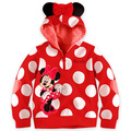 (LL69)2016 Hot Baby Girls Child Mickey Minnie Tops Hoodies Coat Sweatshirt Outfits Set Costume Free Shipping