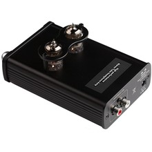 XDuoo TA-02 6J1x 2 Stereo Vacuum Tube Headphone Amplifier Class A RCA Buffer Amp 780mW With DC 12V Adapter