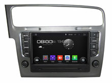 Quad Core HD 8″ Android 5.1 Car audio dvd gps for VW Volkswagen Golf 7 2013 With Radio 3G WIFI BluetoothTV USB DVR 16GB ROM