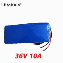 LiitoKala 36 v 10ah 500 w 18650 batteria al litio 36 v 8AH batteria Elettrica della bici con il caso del PVC per elettrico bicicletta