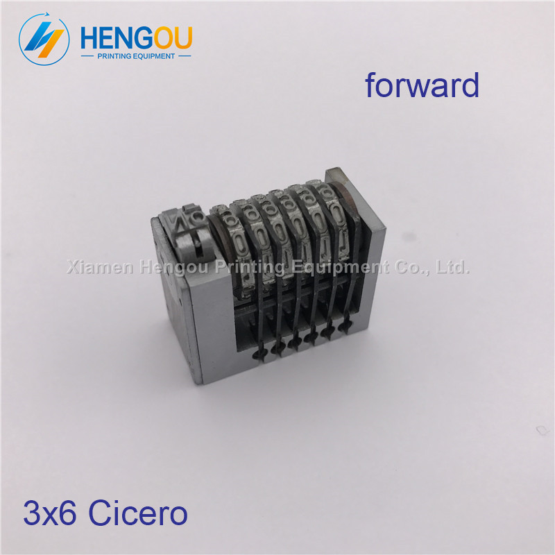 1 PIECE free shipping 6 digits forward numbering machine number coding 3x6 Cicero full steel material1 PIECE free shipping 6 digits forward numbering machine number coding 3x6 Cicero full steel material