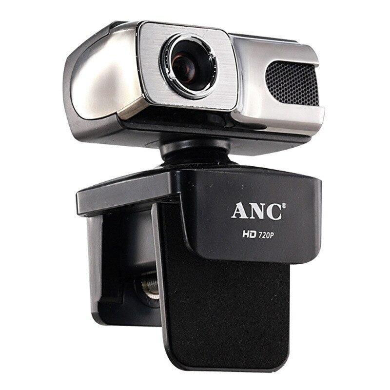 Aoni ANC Webcam HD 720P 12 Mega USB Web Cam Free Drive Smart TV Desktop PC Computer Video Laptop Camera Night With Microphone
