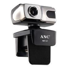Aoni ANC Веб-Камера HD 720 P 12 Мега USB Веб-Камера Бесплатно Drive Smart TV Настольный ПК Компьютер Видео Ноутбук Камера Ночь С микрофон