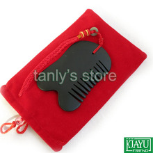 Freeshipping Wholesale and Retail Traditional Acupuncture Massage Tool Guasha Comb /Natural Bian-stone/Scrapping 1pieces lot wholesale traditional acupuncture massage tool guasha oil 50ml piece scrapping skinscraping gua sha therapy