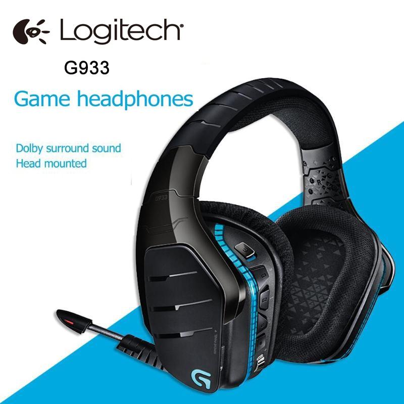 Logitech G933 ARTEMIS SPECTRUM Wireless RGB Headphone X 7 1 Surround Sound  Gaming Headset for PC PS4 Xbox One Xbox Switch Mobile