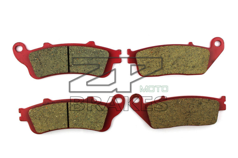 Motorcycle Brake Pads For HONDA 600 FJS 1/2/A3-7/D3-6 Silverwing Scooter 2001-2009 F+R New Ceramic Composite High Quality ZPMOTO motorcycle brake pads for bmw c 600 evolution scooter 2014 front rear oem new carbon ceramic composite high quality zpmoto