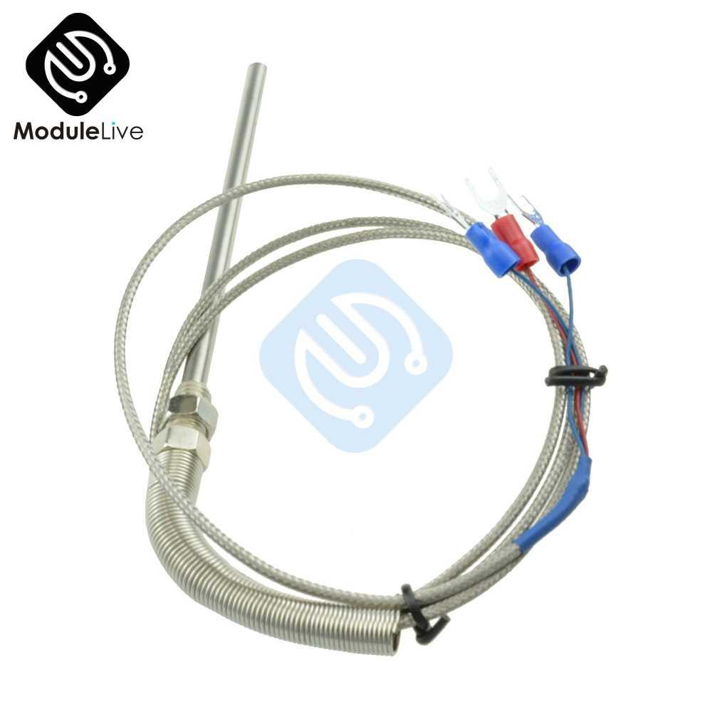 Ntc5k 3 m tubería de silicona hasta 200 ° C cable sonda temperatura speicherfühler