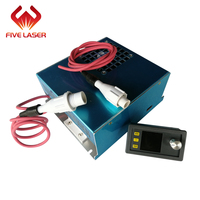 Desktop laser cutting machine used 40w laser power supply with LCD display current meter