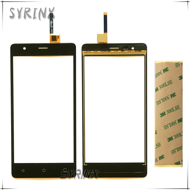 SYRINX + 3M Tape Touch Screen Digitizer For Fly Cirrus 12 FS516 FS 516 Touch Panel Glass Sensor Touchscreen Replacement Touchpad