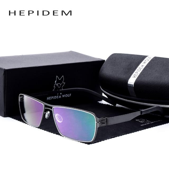 2e8f1a2a4d2 Germany Designer no screw eye Glasses for Men ic Optical Frames Ultra Light  Thin Elastic Myopia