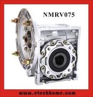 NMRV075 Worm Reducer 19mm 24mm 28mm Input Shaft 7 5 1 100 1 Gear Ratio Worm