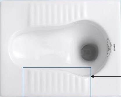 Eco-Friendly Water Saving Squat Toilet 4