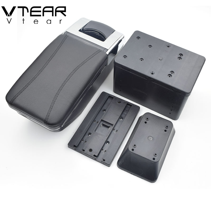 Vtear For Toyota fj cruiser armrest box central Store content box products interior Armrest Storage car