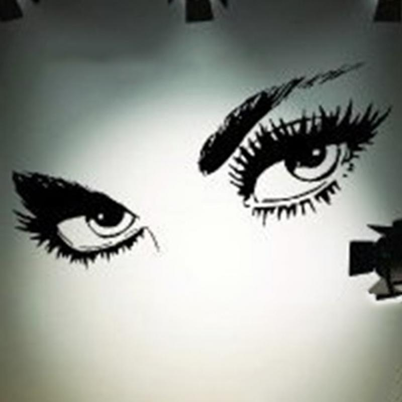 Aliexpresscom Buy Sexy Eyes Wall Sticker Home Decor Vinyl Art - Vinyl stickers designaliexpresscombuy eyes new design vinyl wall stickers eye wall